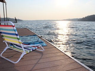 Enjoy Pristine Hayden Lake in a Secluded Waterfront Home - Sleeps 15