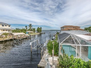 Casa High Tide- Matlacha 3BR Canal Home w/Private Pool & Dock