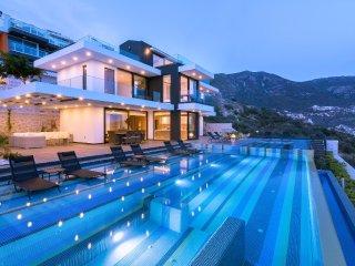 Villa Kalkan Vogue is a 4 Bedroom Luxury Villa with Pool and Seaview in Kalkan