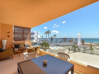 "- Beach SEA VIEW PENTHOUSE Playa de""n BOSSA - next to Ushuaia Ibiza"