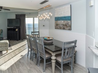 Gulf views from the remodeled dining area