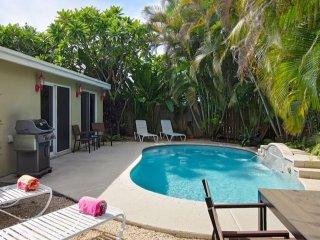 NEW-Heated Pool - Near Beach -  Large Fenced totally private backyard-Zen Garden