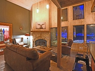 Open, Modern, Rustic Tahoe Home