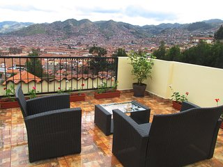 BEST VIEW OF CUSCO in the historical center of the city