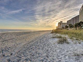 Myrtle Beach Condo at Oceanfront Sand Dunes Resort