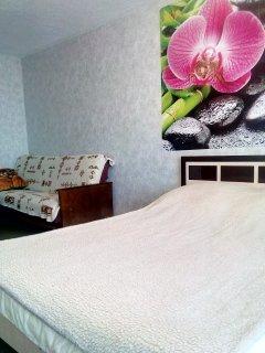 Апартаменты с 1 спальней, большой кухней и раздельным санузлом.