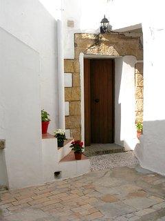 Puerta de entrada desde el patio
