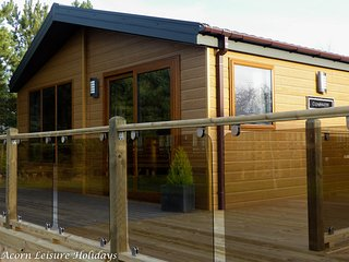 Barneys Retreat, Hot Tub, Lodge, Felmoor Park