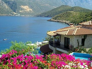 Kas Villa Sleeps 15 with Pool and Air Con - 5433434