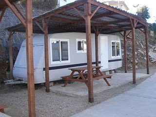 Pet Holidays Spain Caravan