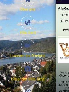 Unsere App im Google Play Store. Hier finden Sie viele Informationen über das Rheintal und uns.