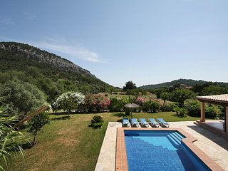 4 bedroom Villa in Pollença, Balearic Islands, Spain : ref 5184279