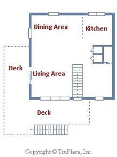 Floor Plan - top level