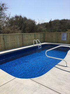 The Pool! Abt 14'x25'