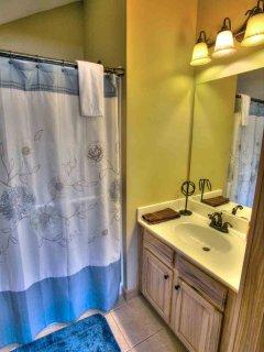 Upper Level Bathroom and Shower