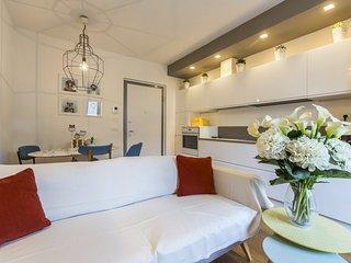 Design apartment with garden