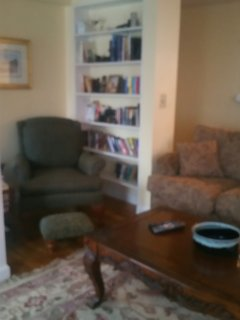 Reading Corner in family room