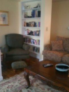 Reading Corner in family room