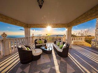 Sofa Set under Gazebo with Sea Views