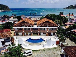 2 Bedroom Vacation-Condo with Ocean View - Downtown San Juan del Sur (F1)