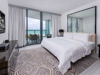 W South Beach Private Residence For the Jetset Beachfront Unit 819