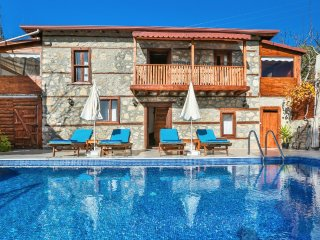 2 Bedroom Private Villa To Rent in Kalkan, Turkey With Pool and Seaview