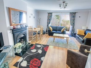Annie's Cottage, Beer, Devon, on the Jurassic Coast, with parking, pet friendly.