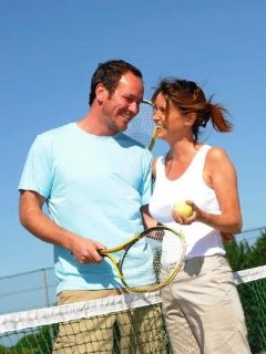 Tennis courts  -  free  of charge  on the resort