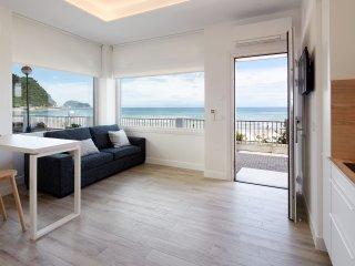 Apartamento Egona - Zarautz sobre el mar Mutxio