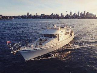 80ft Australian Built Motor Yacht