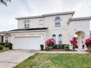 Spacious, two-story house near Disney w/ private pool, hot tub, & game room