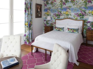 St Claire Guest House - Blue bedroom