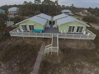 **BEACH FRONT** What-A-View II (East & West) 2 Private Houses-  7 BR/5 BA