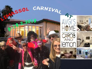 CAROB & LEMON Combination Apartments at AVGI'S HOME - Limassol