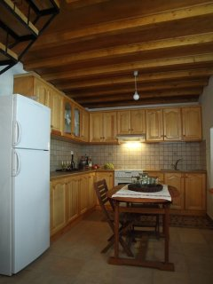 Traditional fully equipped kitchen