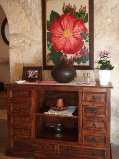 Traditional furniture of Villa Menelia