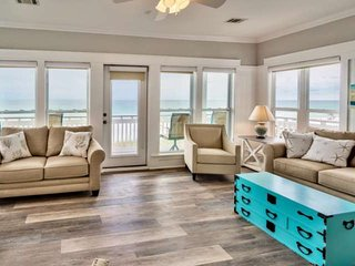 Coastal Gulf Front Cottage - 2 King Suites - Hot Tub - WIFI - Steps to Sugar San