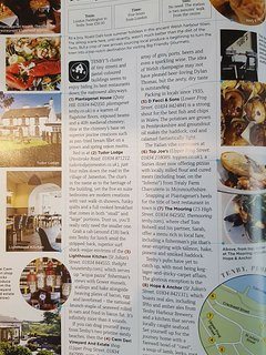 Pub across the way recently featured in GQ! Great food and huge beer garden plus kids play area.