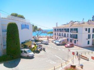 Bonito apartamento con vistas a la playa de Llafranc