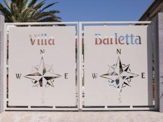 Villa Barletta appartamento a piano terra numero 1