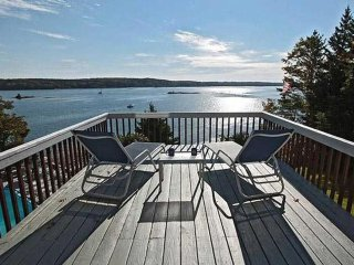 Starboard Cabin - New Pool, Dock, Moorings, Spectacular Views of Linekin Bay