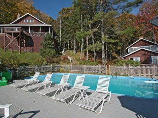 Boothbay Harbor Waterfront Cabin with Inground Pool, Dock, and Tennis