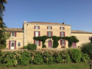 Classic and luxurious French manor house set in large grounds with swimming pool