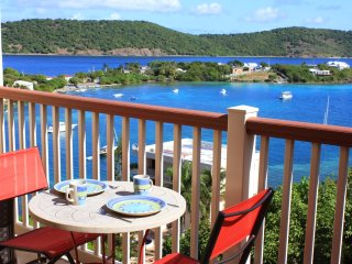 One million dollar view at Point Pleasant Resort St Thomas USVI