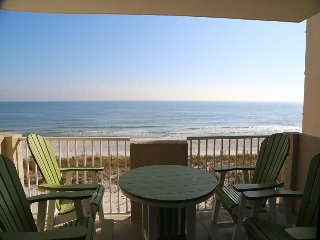 Tropical Winds 304 - Private balcony with bar height table and chairs
