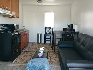 Large, Clean and Cute Studio with Parking