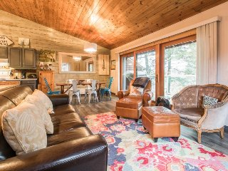 Beautiful home w/ spacious deck & incredible lake views - beach nearby!