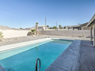 NEW! 3BR Lake Havasu City Home w/ Backyard Pool!