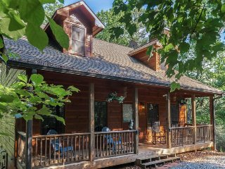 Cozy Blue Ridge Mountains cabin w/ private hot tub & wood-burning fireplace!