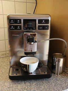 SAECO-Kaffeevollautomat für wunderbaren Kaffeegenuß